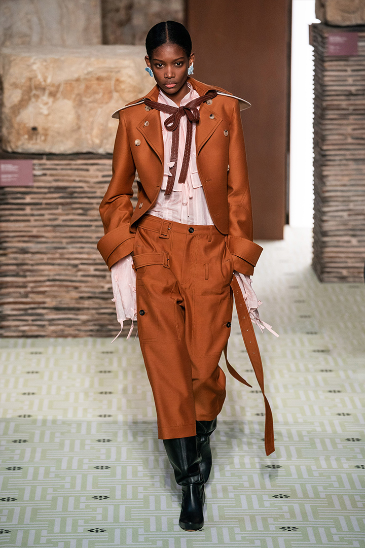 Lanvin 2019 Fall Fashion Show By Bruno Sialelli