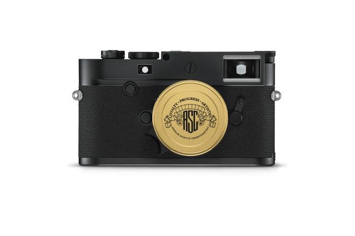 拍出最有電影感的照片!Leica 推黑金色 ASC 100 Edition 相機