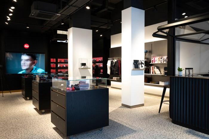 Leica 開設香港首間相機專賣店,還可以飲咖啡啊!