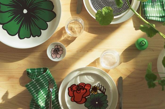 用上了 Marimekko Olva 餐具,食物馬上更美味了!