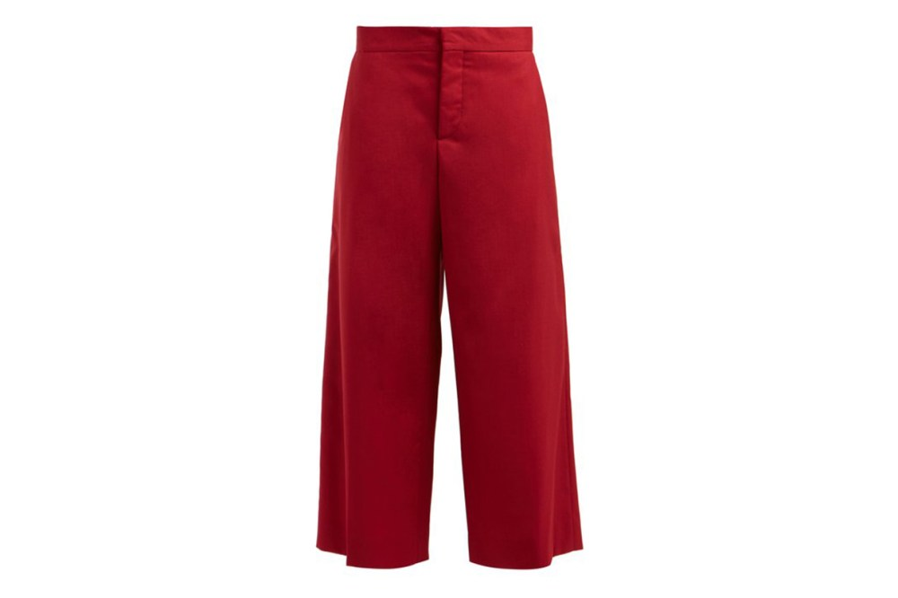 Marni Cropped Wool Trousers