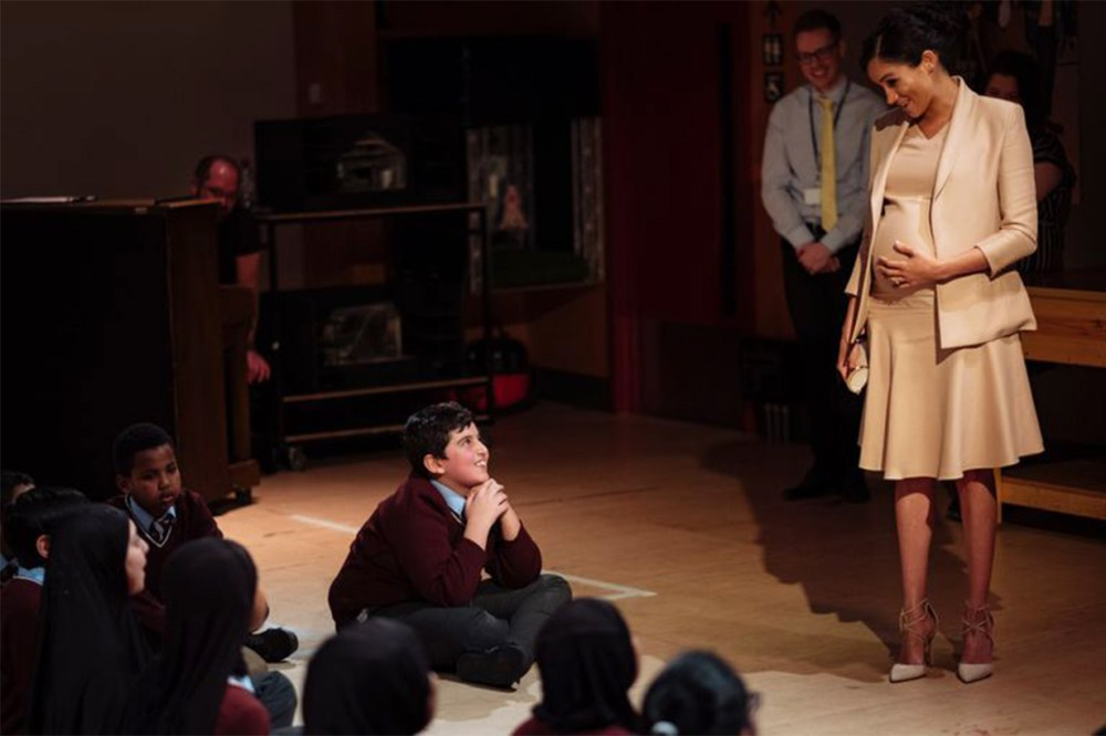 Meghan-Markle-Kid National Theatre