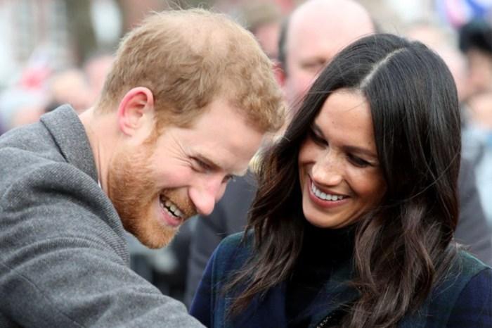 這個小男生看梅根的眼神,哈里王子見到一定會吃醋!