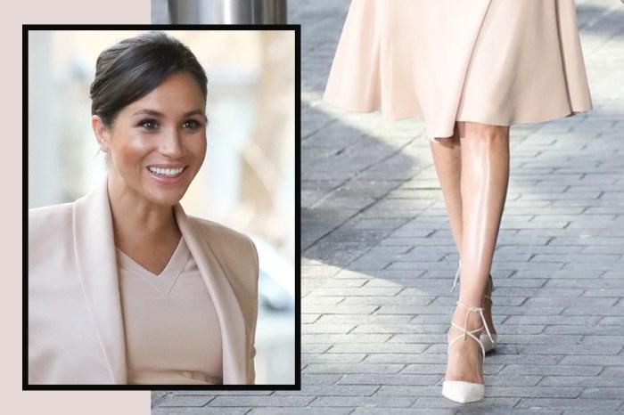 梅根雙腿總是閃閃發亮?因為她用了這種叫「空氣絲襪」的產品!
