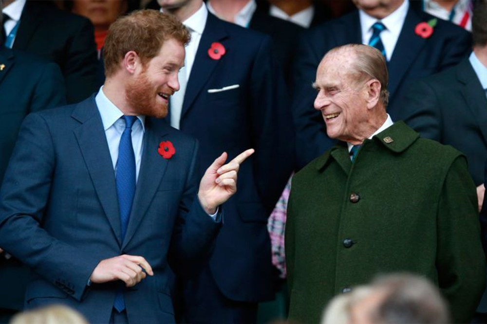 Prince Phillip Prince Harry