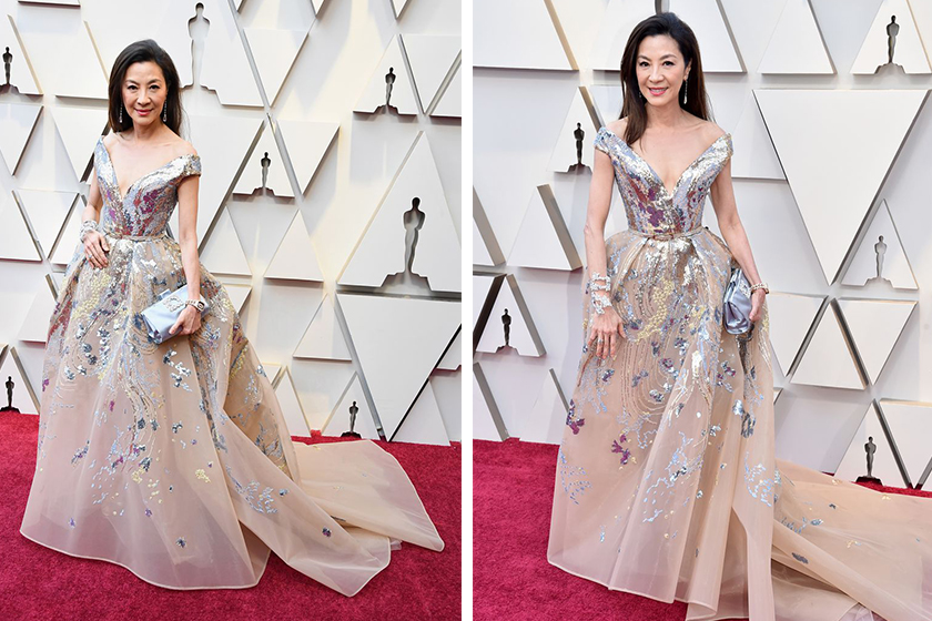 Michelle Yeoh dazzles Oscars red carpet