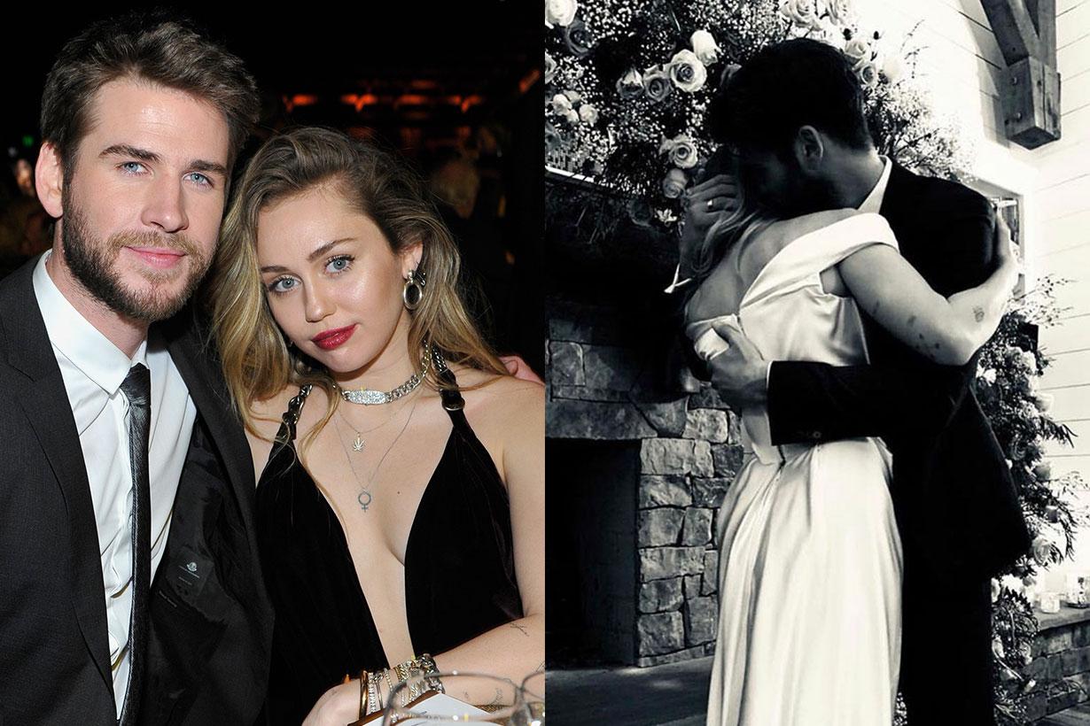 Miley Cyrus Liam Hemsworth marriage after malibu fire