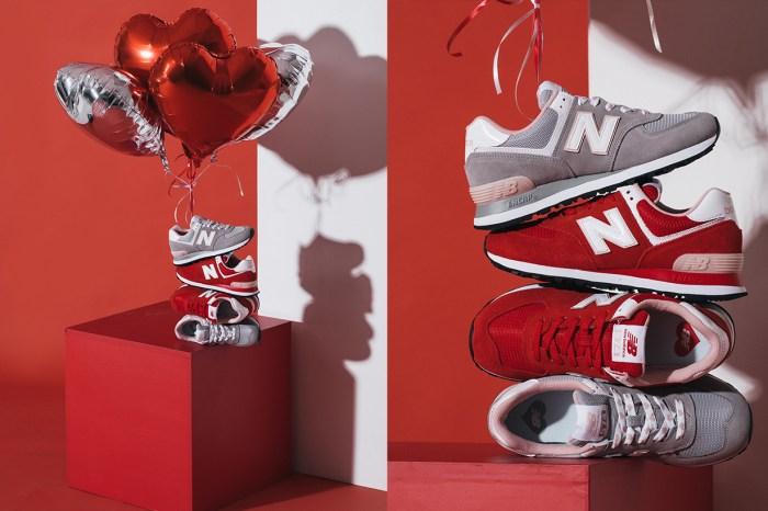 Last Minute 的情人節禮物:以 New Balance 的紅鞋表達愛意