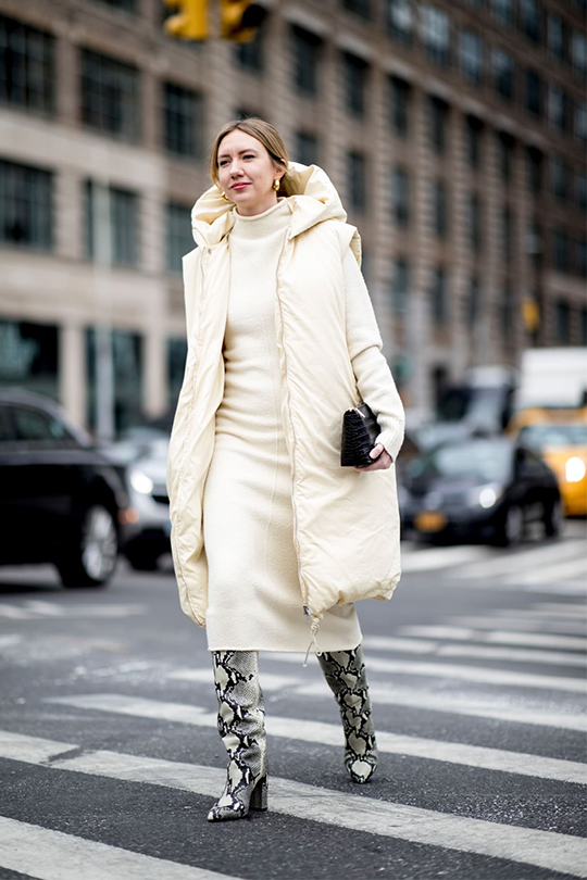 nyfw-streetsnaps- snakeskin boots-trend