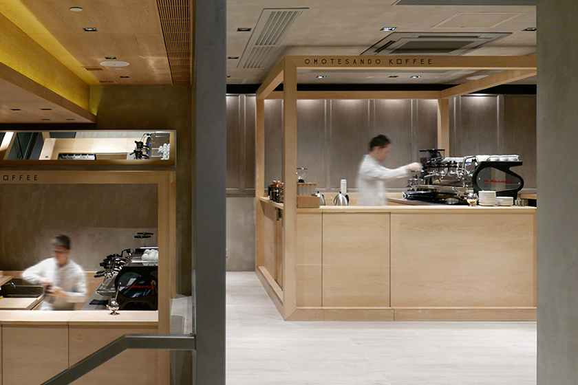 Omotesando Koffee in Wan Chai Hong Kong coffee shop