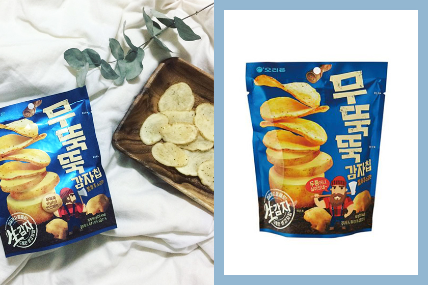 Orion 木獨獨厚切薯片