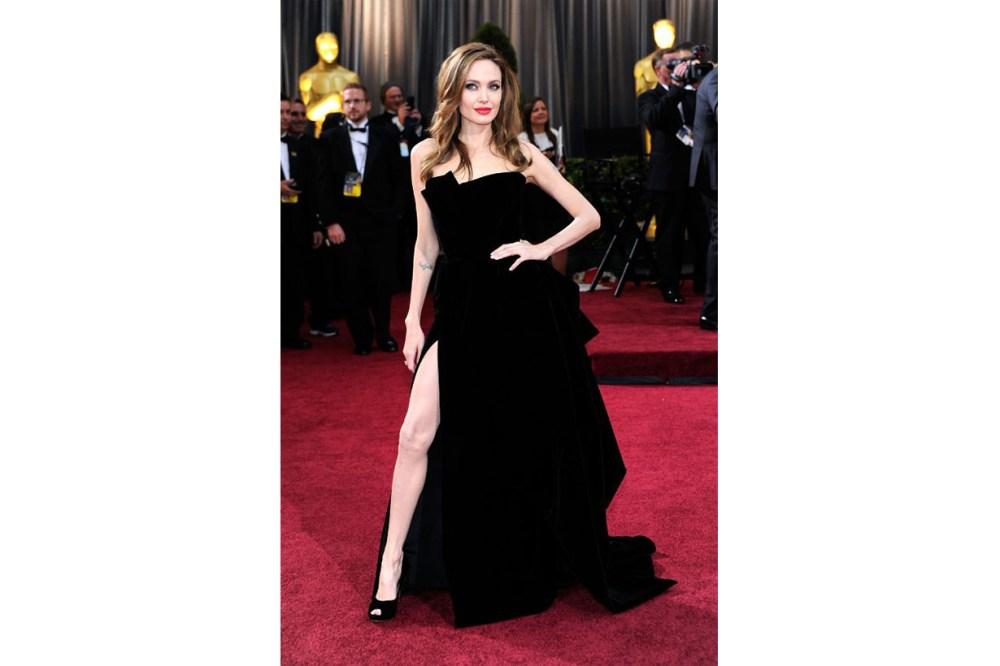 Angelina Jolie Atelier Versace Dress