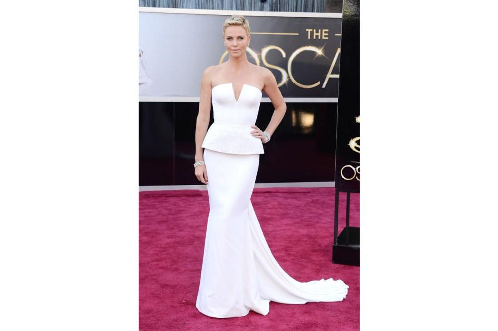 Charlize Theron Dior dress