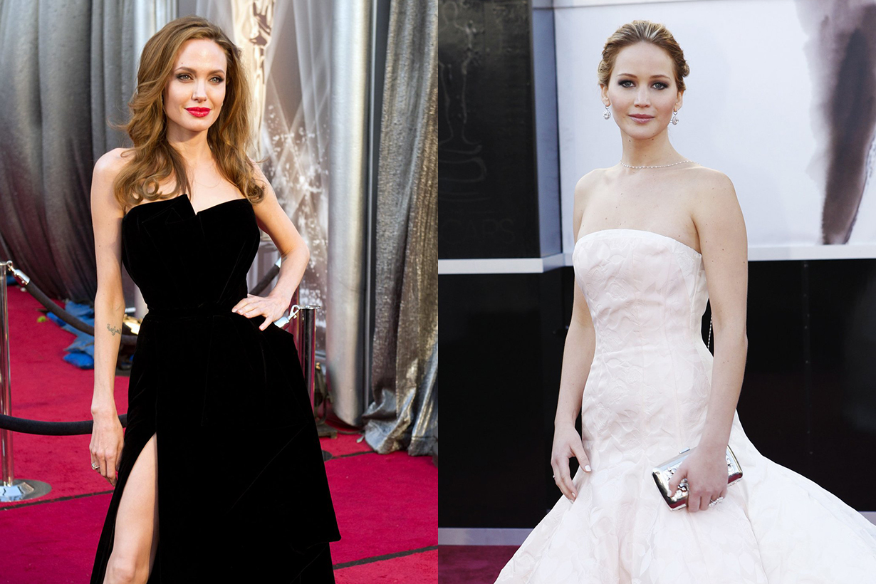 Oscars Red Carpet Dresses Most Google Search