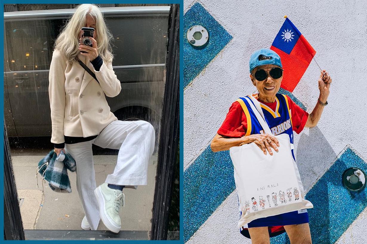 Stylish Women Over 50 Instagram KOL