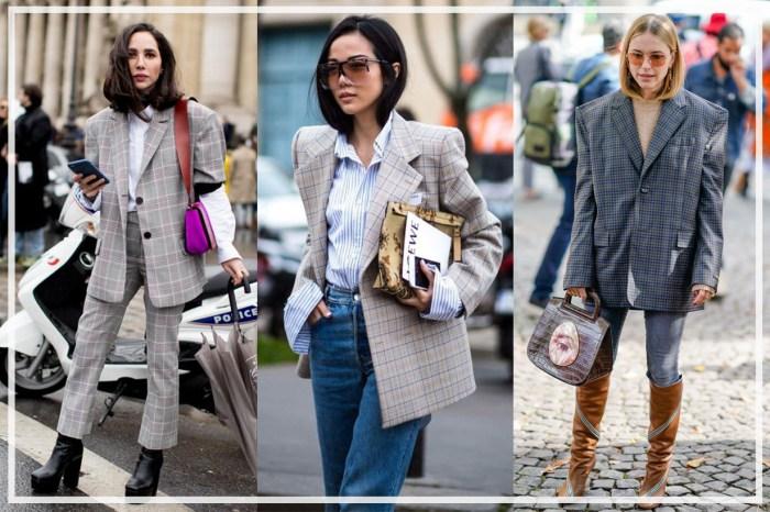 擺脫上班沉悶味!8 大 Oversized 西裝外套穿法,化身隨性與優雅女生