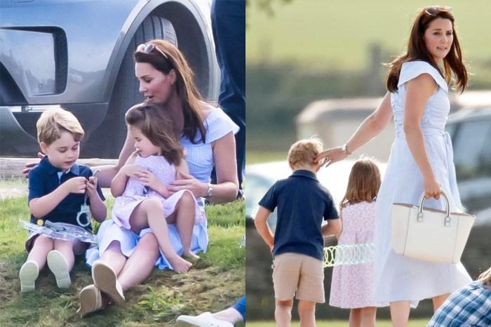 學校假期這樣過:5 歲喬治王子與 3 歲夏洛特公主已經可以不用任何輔助游泳了!