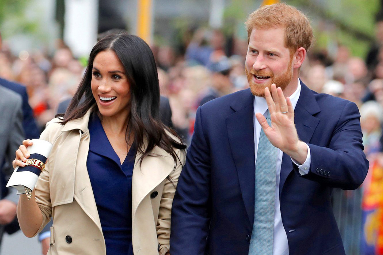 Prince Harry had to sit in a shrine of Meghan Markle on Valentine's Day
