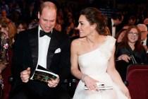 當皇室人員不一定是優差,威廉凱特出席「英國奧斯卡」就上演了尷尬的一幕!