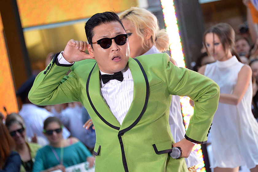 PSY lose weight