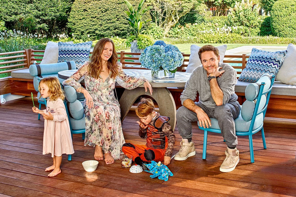 robert downey jr family disney father susan