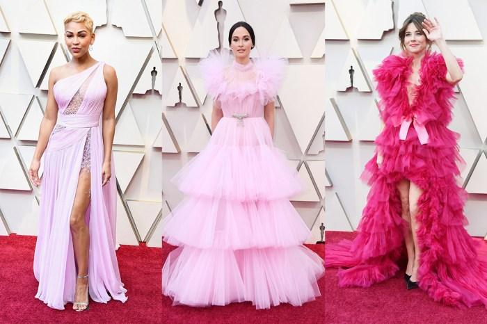 千禧粉紅攻陷奧斯卡:女星紅地毯粉色造型合集,優雅甜美難分高下!