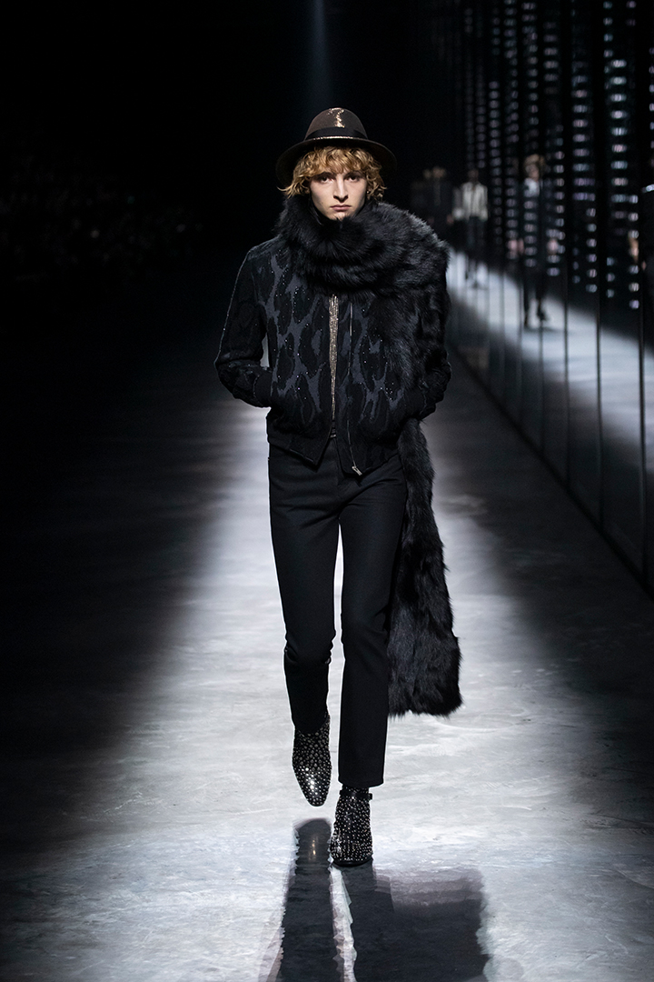 Saint Laurent 2019 Fall By Anthony Vaccarello Paris Fashion Week