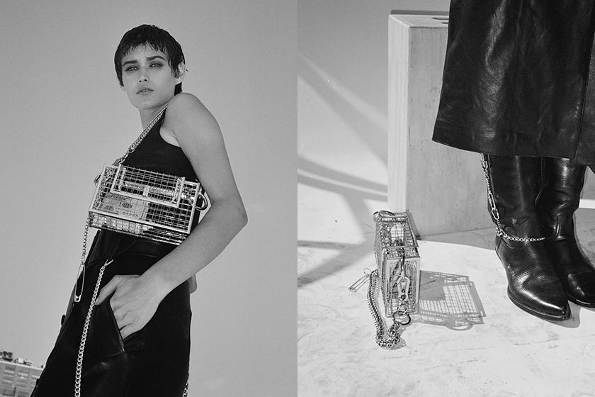 Brooklyn designer martine ali silver desi crossbody bag instagram fashion