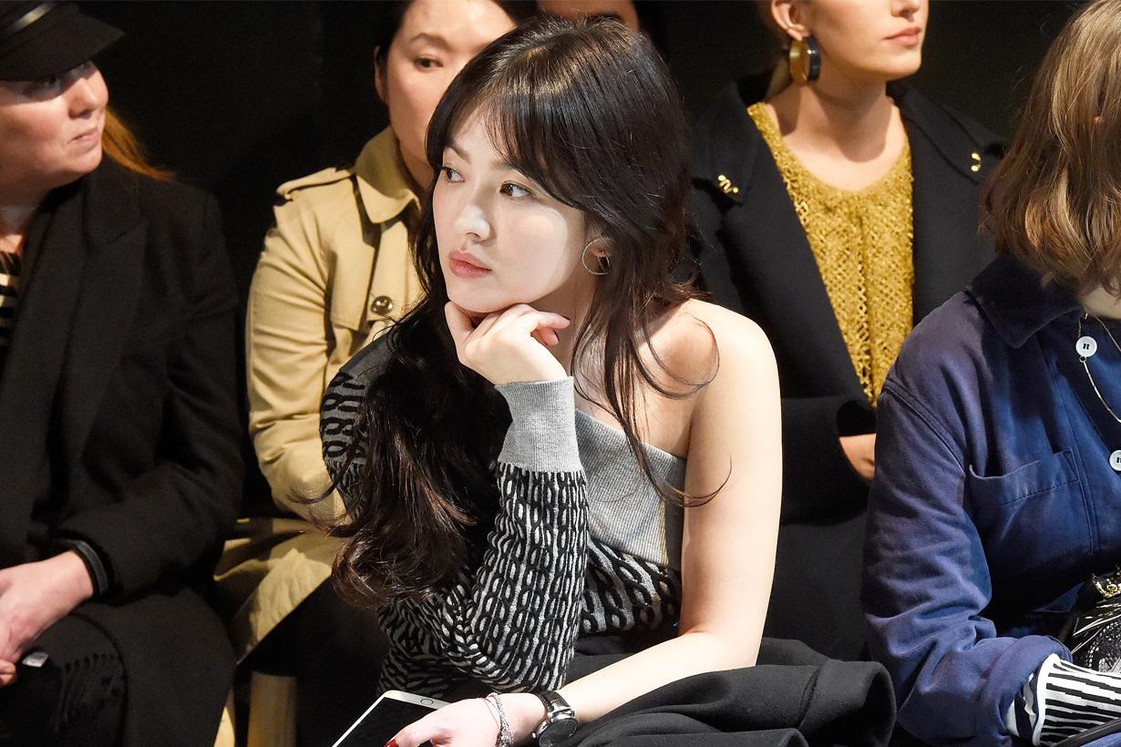 Song Hye Kyo Elle Korea Cover Star Editorial Shoot Chaumet K Pop Korean Idols celebrities actresses spring goddess