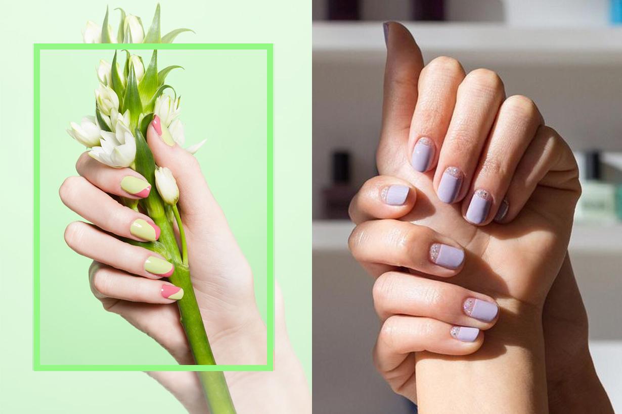 spring nails polish