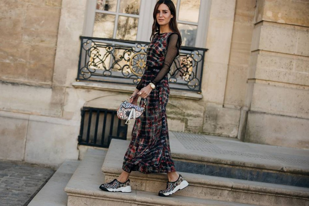 Dior Saddle Bag Street Style