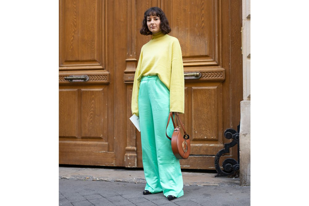 street style green yellow