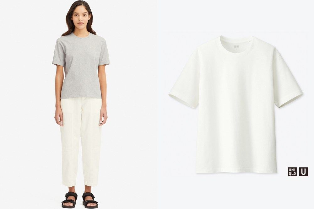 uniqlo t shirt tee white tee guide