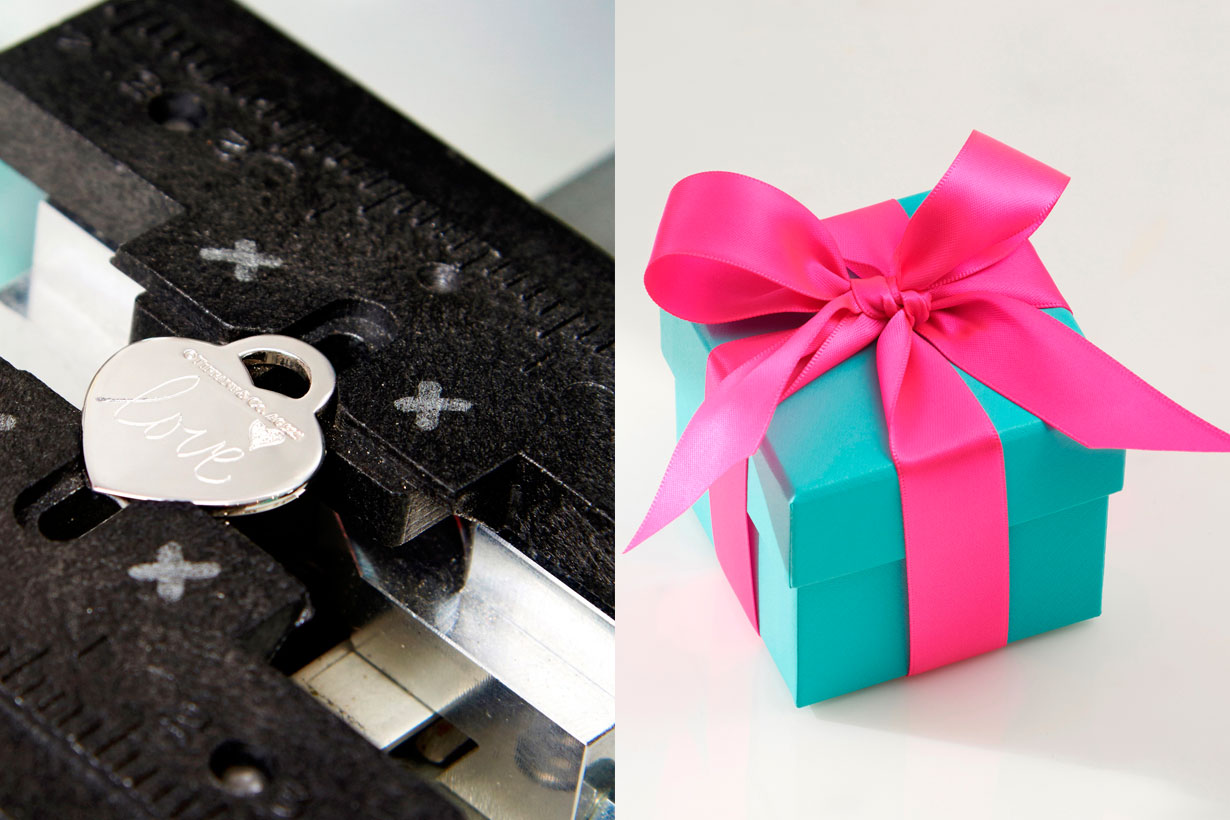 Tiffany & co. Valentine's Day personalisation and engraving service Hong kong