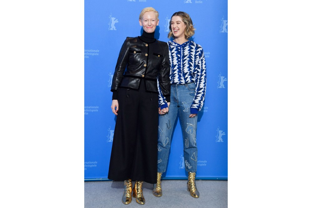 tilda swinton hornor byrne chanel mother daughter stylish the souvenir