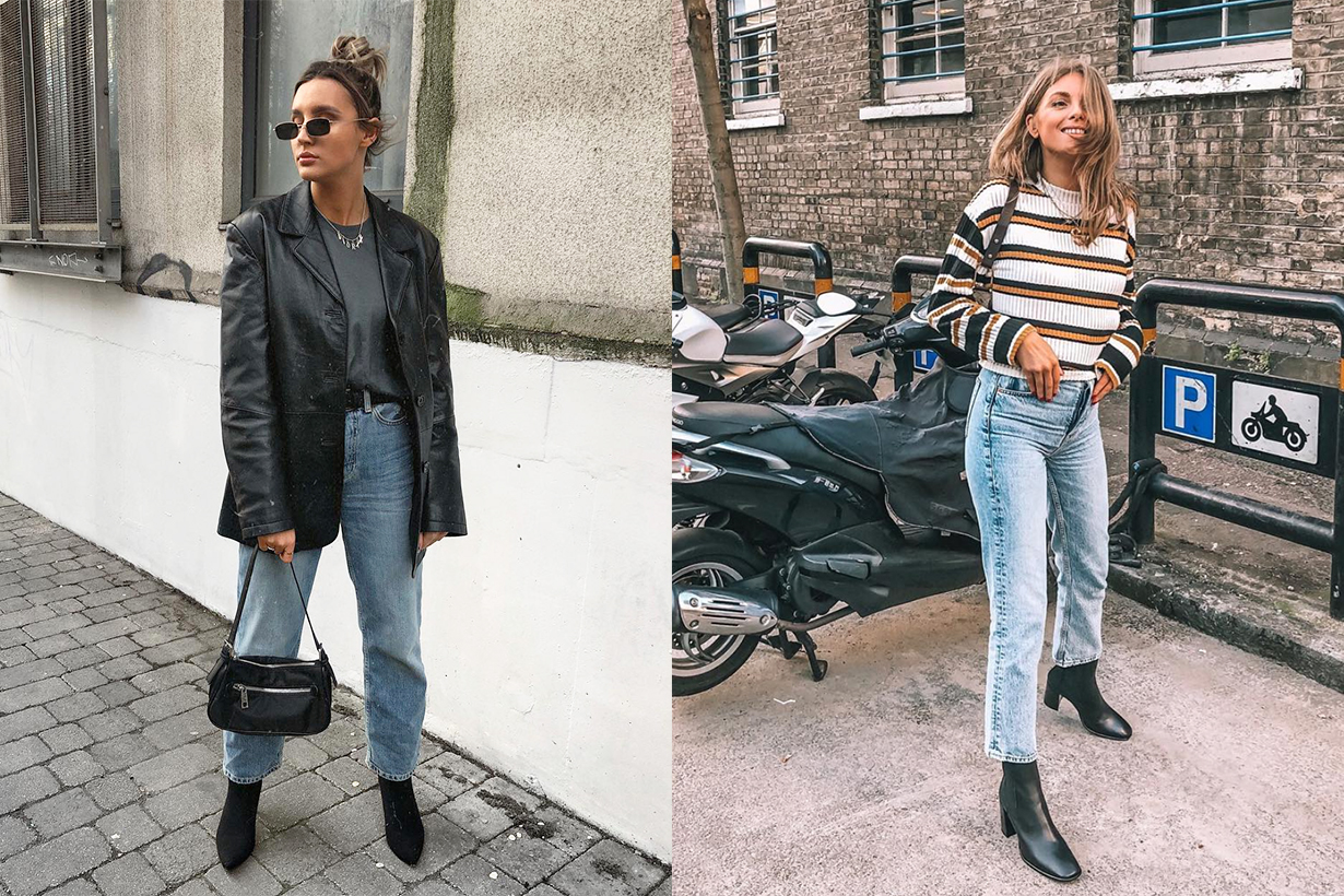 Topshop Jeans Denim Joni Editor Instagram Trend Fashionista Fashion Lover skinny jeans straight leg high waisted street style fashion mix and match