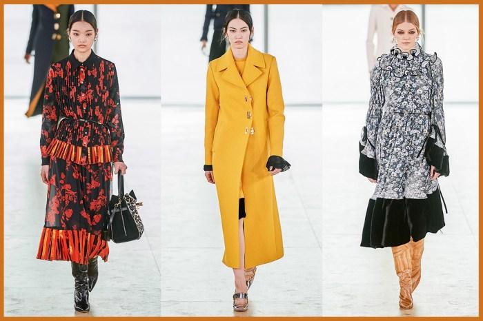#NYFW:穿上明亮繁美的 Tory Burch 秋裝,化身摩登的藝術學院女孩!