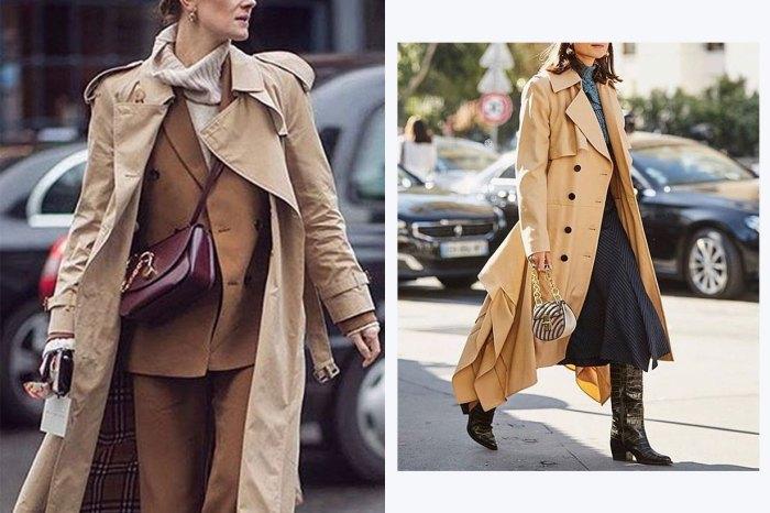趕快買件 Trench Coat!跟着街拍潮人襯出高端造型