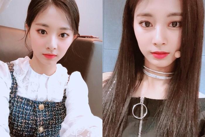 Twice 子瑜換上今年最流行「珊瑚橘」髮色,網民:更顯氣質!