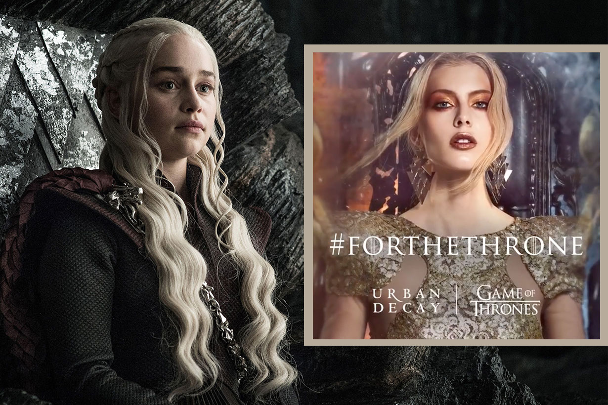 Urban Decay Game of thrones makeup collection