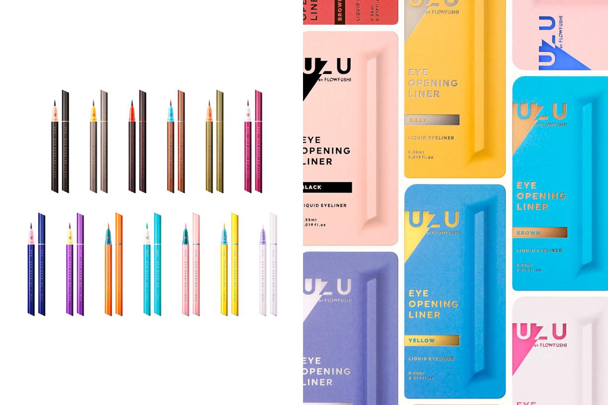 uzu flowfushi moteliner eye liner japan makeup new