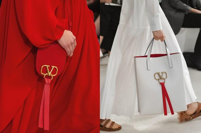 Valentino 在 2019 春夏為優雅女生準備了一個最合心的手袋