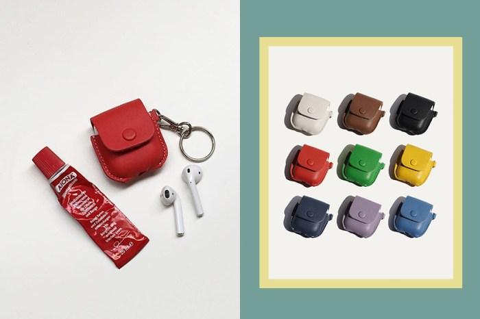 超美又平價!韓國這款超熱銷 「AirPods 皮套」,小資女想要包色!
