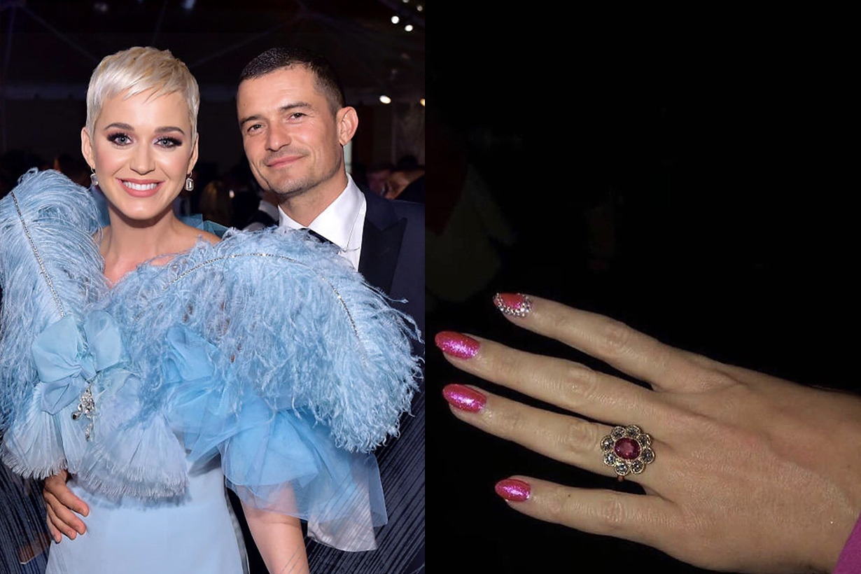 Katy Perry Orlando Bloom Engagement Ring