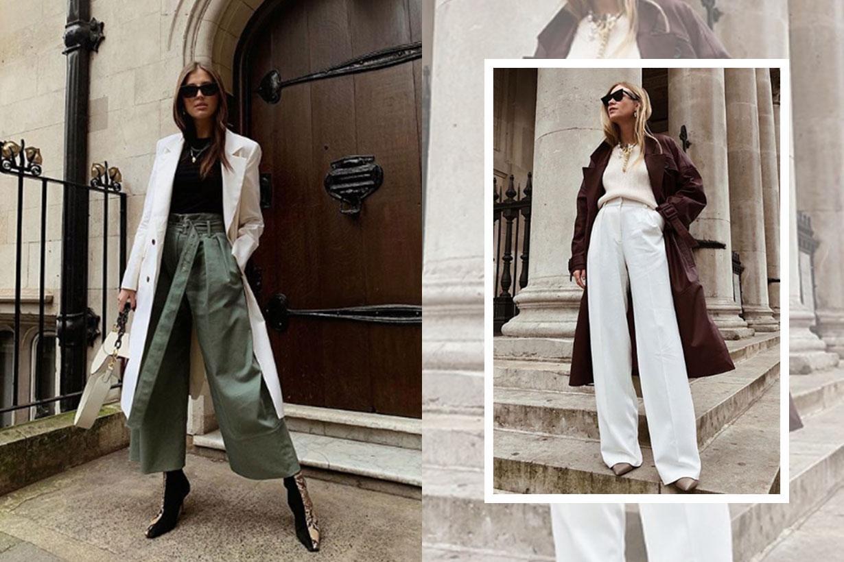 The trending trouser shape that will make your legs look twice as long