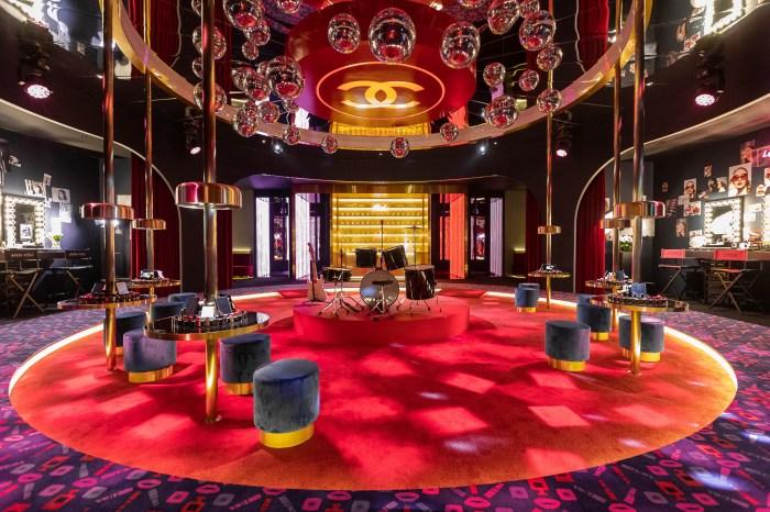 彷彿穿越時光來到 80 年代復古舞廳!這個 Chanel 地標成為熱門打卡點!