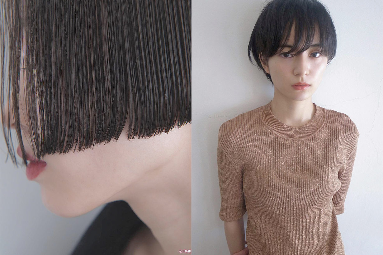 bob hairstyles japanese Tadakatsu Isobe stylist