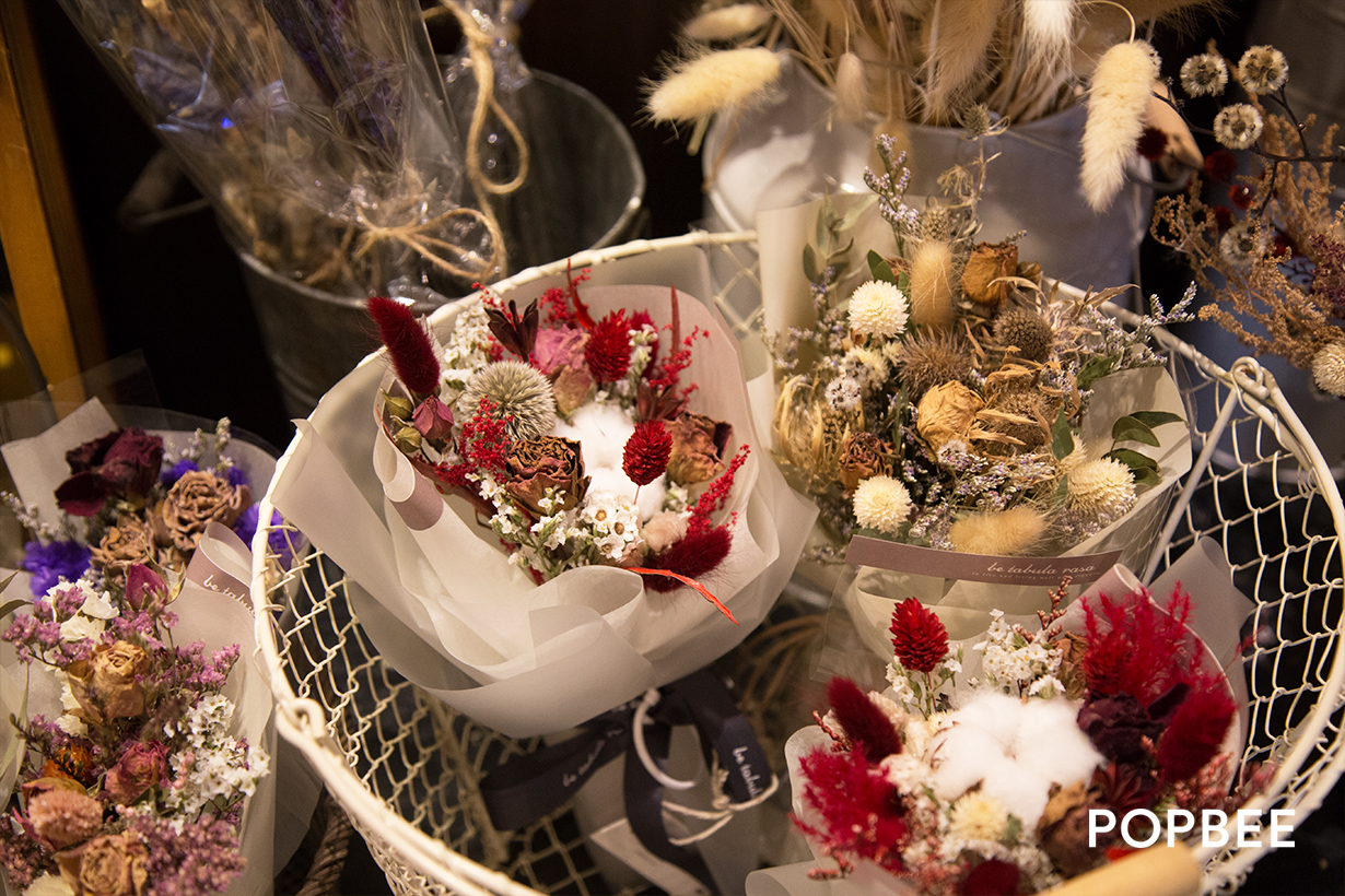 白紙花舍 be tabula rasa flower shop hong kong Prince Edward