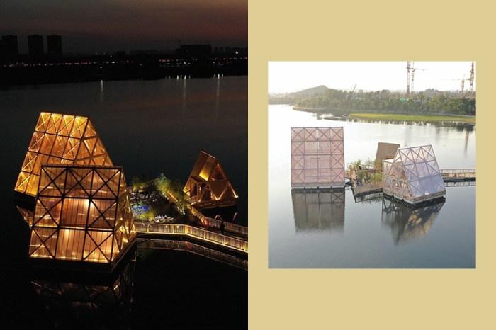 這座看似夢幻漂浮的「水上木屋」背後竟有著令人動容的故事!