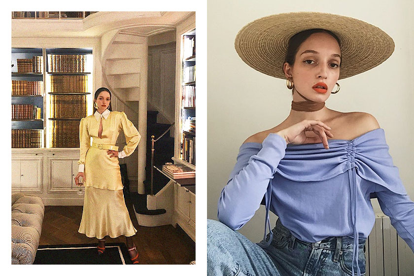 French Style Instagram Girl Emma Rowen Rose